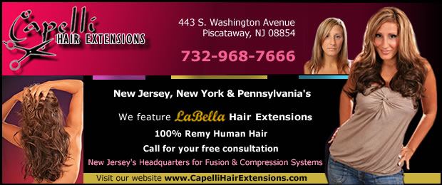 Capelli Hair Extensions New Jersey