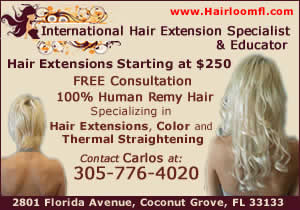 Hairloom International hair extension specialist