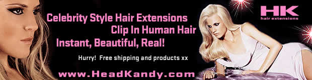 Dirty Looks Clip In Hair Extensions