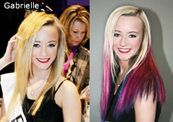 Hair extension makeovers by di biase hair extensions gabrielles hair makeover pmusecretfo Choice Image