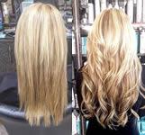 Ashley Grey Salon: Blonde hair extension back