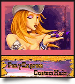 Pony Express Custom Hair
