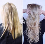 Salon Adelle - Before and after extensions