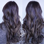 Salon Adelle - Brown weavy hair extensions