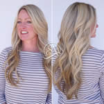 Salon Adelle - Front and back